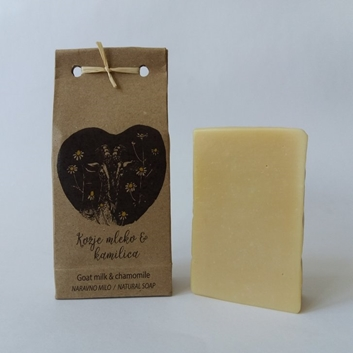 Picture of GOAT MILK - CHAMIMILE NATURAL SOAP