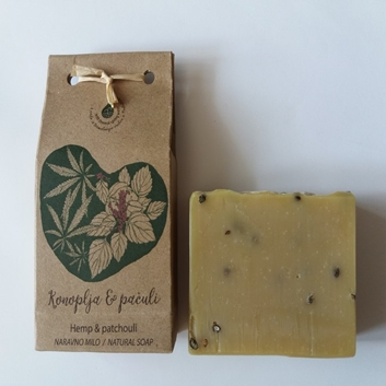 Picture of HEMP - PARCHOULI NATURAL SOAP