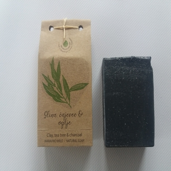 Picture of BENTONITE CLAY -  TEA TREE NATURAL SOAP